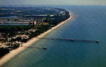 Indian Rocks Beach - Florida FL Postcard