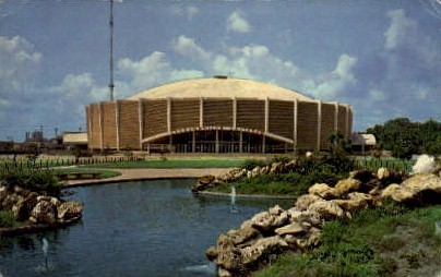 New Coliseum - Jacksonville, Florida FL Postcard