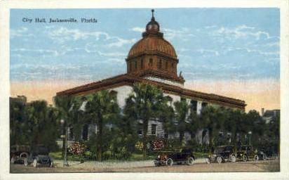 City Hall - Jacksonville, Florida FL Postcard