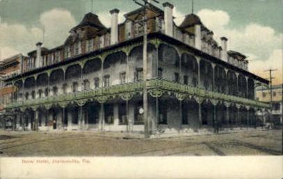 Duval Hotel - Jacksonville, Florida FL Postcard