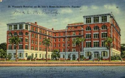 St. Vincent's Hospital - Jacksonville, Florida FL Postcard