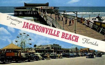 Jacksonville, Florida, FL Postcard
