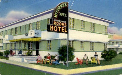 McCormick Hotel - Jacksonville, Florida FL Postcard