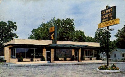 Glass House Restaurant - Jacksonville, Florida FL Postcard