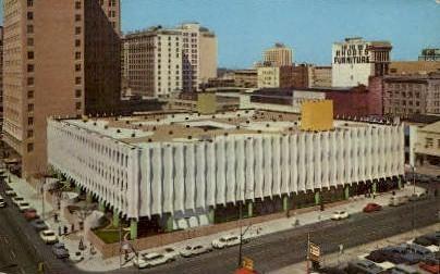 Haydon Burns Library - Jacksonville, Florida FL Postcard