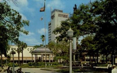 Downtown - Jacksonville, Florida FL Postcard