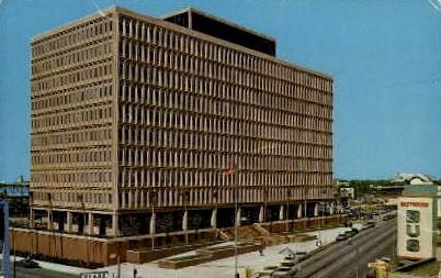 New Federal Building - Jacksonville, Florida FL Postcard
