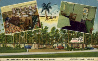 The Ranch - Jacksonville, Florida FL Postcard