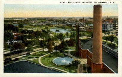 Parkways - Jacksonville, Florida FL Postcard