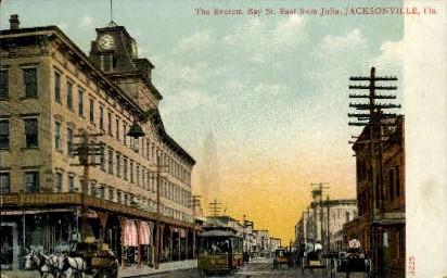 The Everett - Jacksonville, Florida FL Postcard