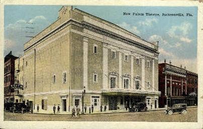 New Palace Theatre - Jacksonville, Florida FL Postcard