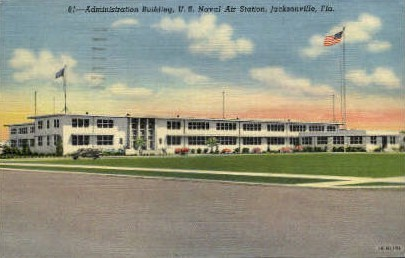 Administration Building - Jacksonville, Florida FL Postcard