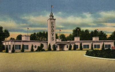 Eddy's Restaurant - Jacksonville, Florida FL Postcard