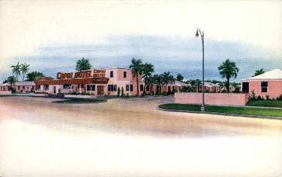 Capri Restaurant - Jacksonville, Florida FL Postcard