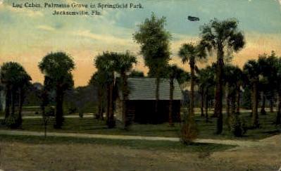 Palmetto Grove - Jacksonville, Florida FL Postcard