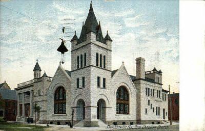 First Christian Church - Jacksonville, Florida FL Postcard