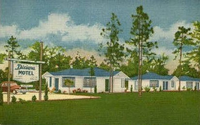 Dixiana Motel - Jacksonville, Florida FL Postcard