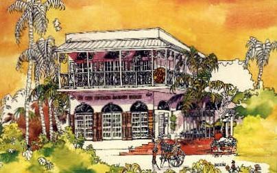 Fragrance & Cosmetic Factory - Key West, Florida FL Postcard
