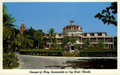 Convent of Mary Immaculate - Key West, Florida FL Postcard
