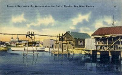 Gulf of Mexico - Key West, Florida FL Postcard