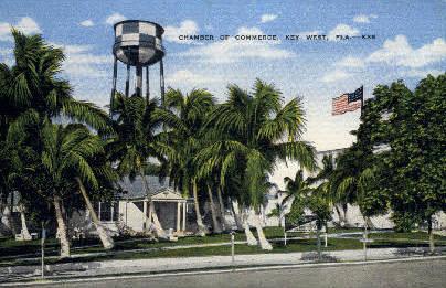 Chamber of Commerce - Key West, Florida FL Postcard