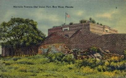 Martello Tower - Key West, Florida FL Postcard