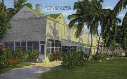 Little White House - Key West, Florida FL Postcard