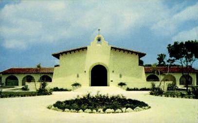 Spanish Mission - Key West, Florida FL Postcard