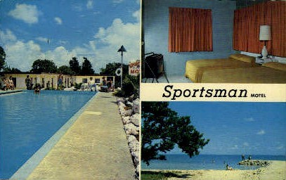 Sportsman Motel - Key West, Florida FL Postcard
