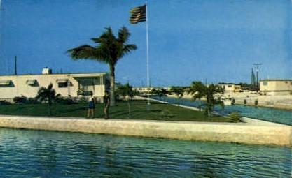 Tamarac Park - Key West, Florida FL Postcard