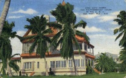 Casa Cayo - Key West, Florida FL Postcard