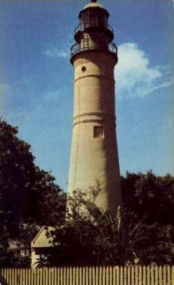 Lighthouse - Key West, Florida FL Postcard