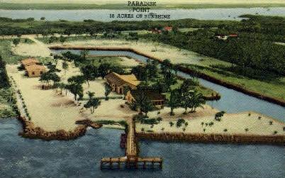 Paradise Point - Key West, Florida FL Postcard