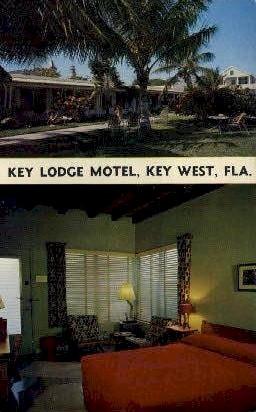 Key Lodge Motel - Key West, Florida FL Postcard