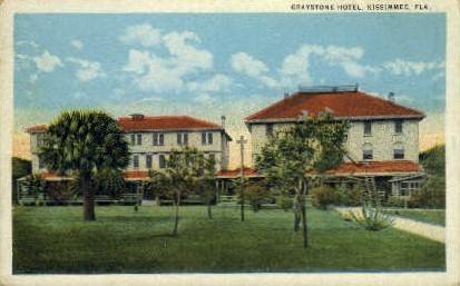 Graystone Hotel - Kissimmee, Florida FL Postcard