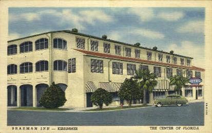 Brahman Inn - Kissimmee, Florida FL Postcard