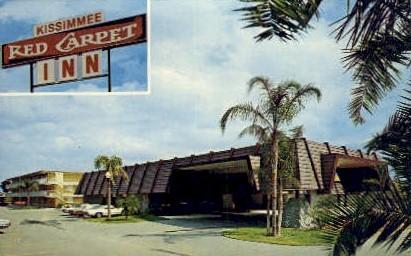 Red Carpet Inn - Kissimmee, Florida FL Postcard