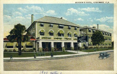 Bostian's Hotel - Kissimmee, Florida FL Postcard
