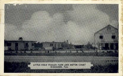 Little Field - Kissimmee, Florida FL Postcard