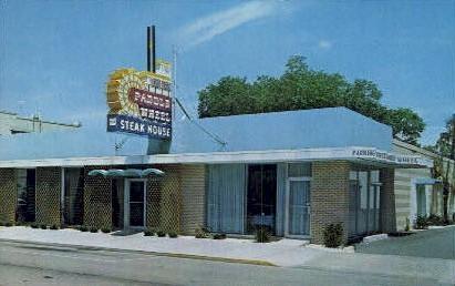 Paddle Wheel Steak House - Kissimmee, Florida FL Postcard