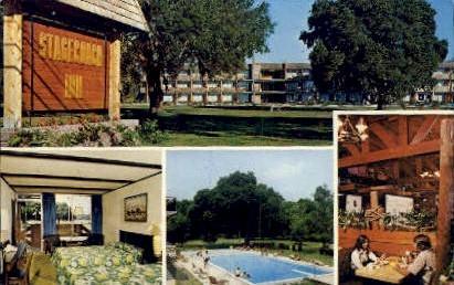 Stagecoach Inn - Kissimmee, Florida FL Postcard