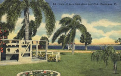 Municipal Park - Kissimmee, Florida FL Postcard