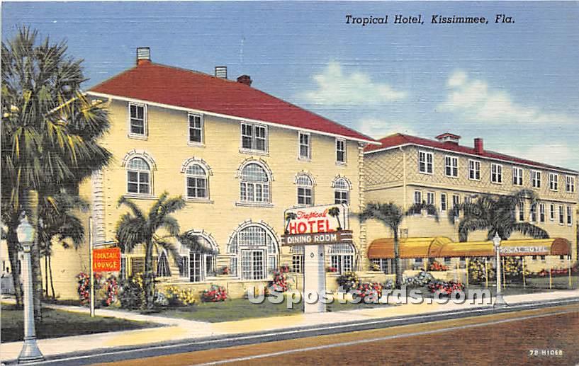 Tropical Hotel - Kissimmee, Florida FL Postcard