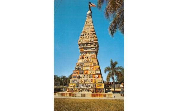 World's Most Unique Monument Kissimmee, Florida Postcard