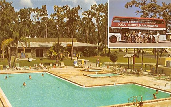 Kissimmee/Disneyworld Kampground Florida Postcard