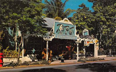 The Old Island Trading Post on Whitehead Street Key West, Florida Postcard