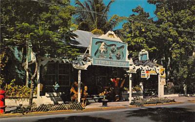 The Old Island Trading Post on Whitehead Street Key West, Florida Postcard