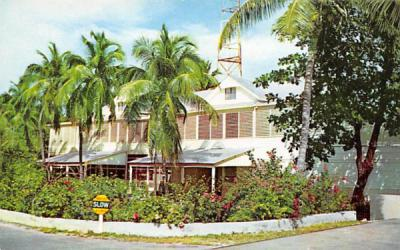 The Little White House Key West, Florida Postcard