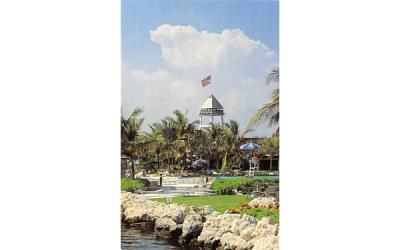 Buccaneer Island at the Ocean Reef Club Key Largo, Florida Postcard