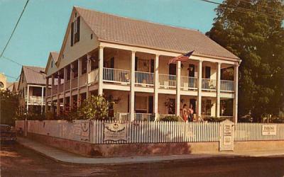 Bahamas House Key West, Florida Postcard